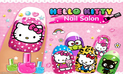 Hello Kitty Nail Salon: The Perfect Game for Kids and Kids at Heart